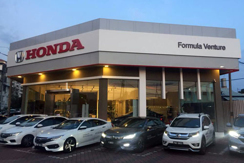 Our Honda Showroom at Butterworth, Malaysia