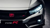 Honda Civic Type-R front light