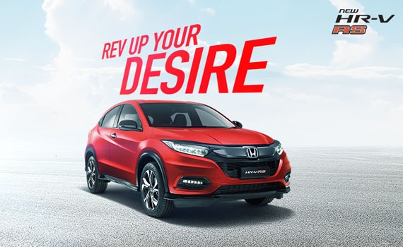 Honda HR-V red