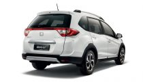 white Honda BRV rear view