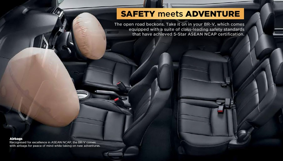 Honda BRV safety feature