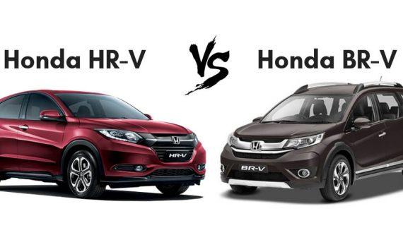 Honda HR-V vs Honda BR-V