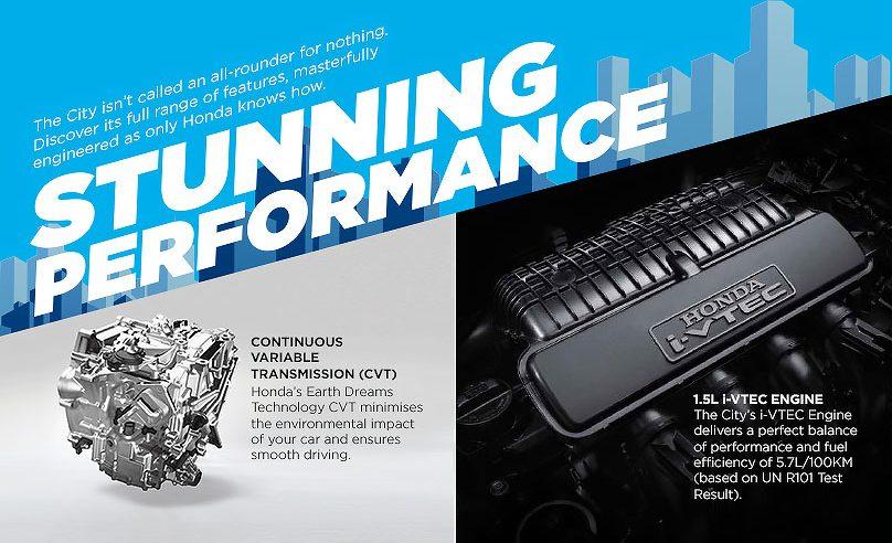 Honda City i-vtec engine