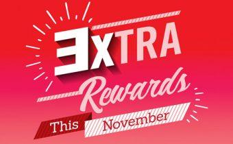 3XTRAORDINARY Rewards & Savings