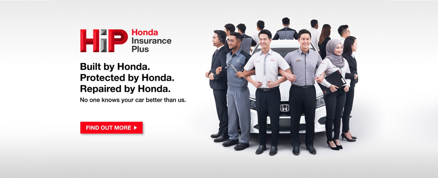 Honda insurance plus banner