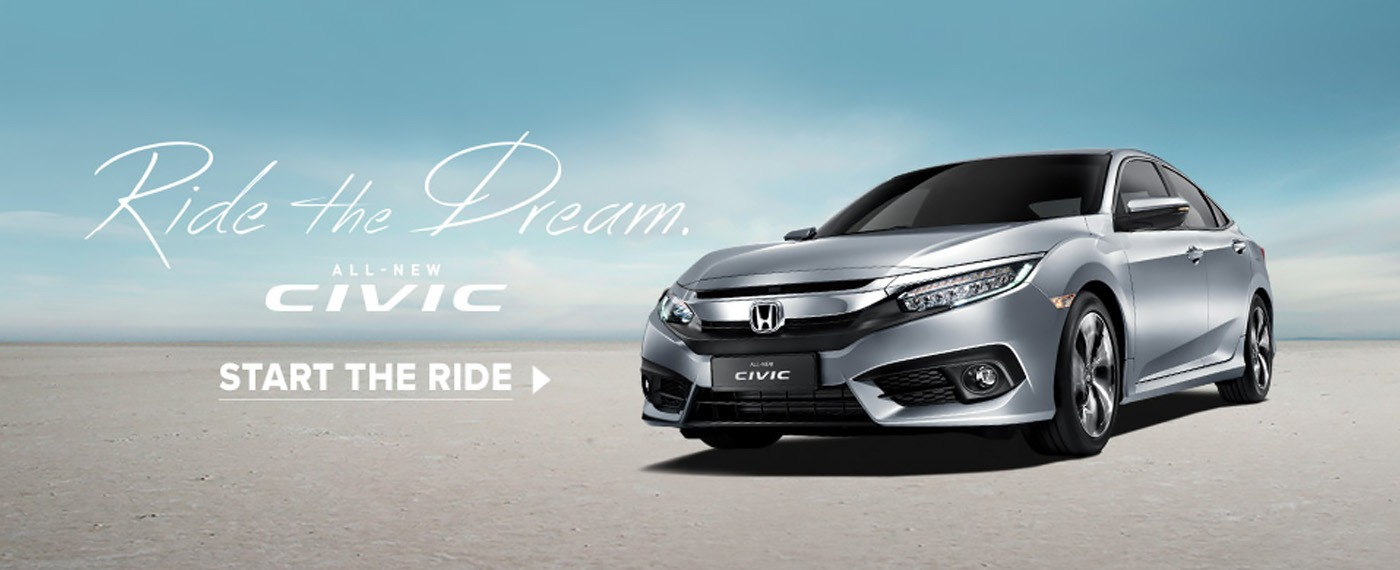 All New Civic - Ride the Dream