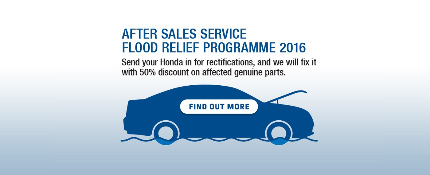 Honda After Sales Service 2016