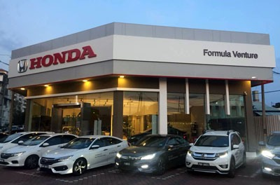 Formula Venture Butterworth showroom