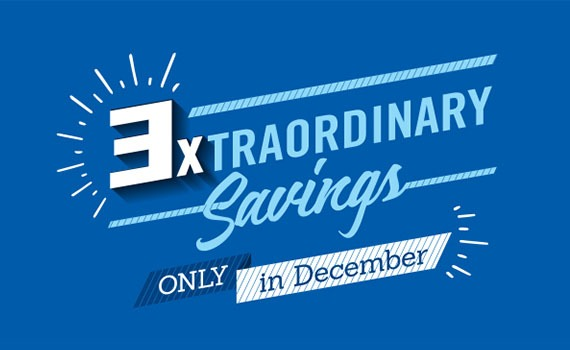 3XTRAORDINARY Rewards & Savings