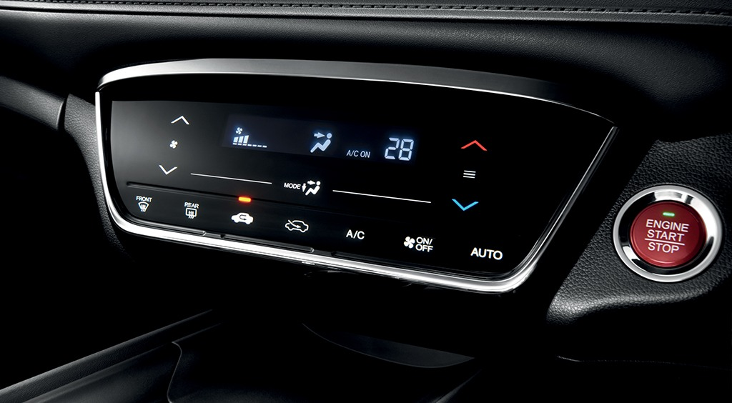 Honda HRV interior dashboard