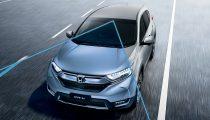 Honda CRV silver