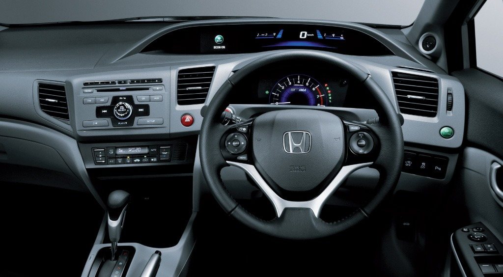 Honda Civic Hybrid interior
