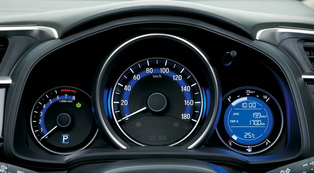 Honda Jazz meter dashboard