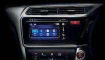 Honda Jazz multimedia dashboard