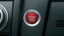 Honda Jazz start stop engine red button
