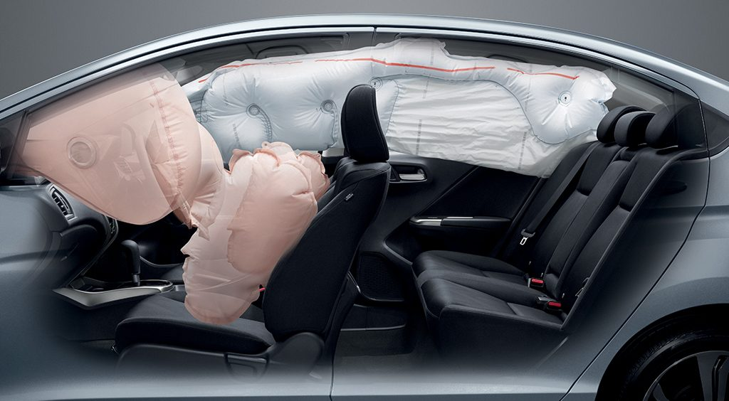 Honda City airbag