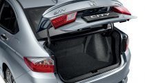 Honda City spacious storage